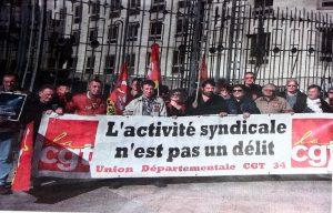 manifestation de sutien à Montpellier